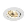 1001981 SLV NEW TRIA 68 ROUND GU10 CS/LS светильник встраиваемый для лампы GU10 50Вт макс., белый