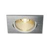 1001993 SLV NEW TRIA 68 SQUARE CS/LS DtW светильник встр. 7.2Вт с LED 1800-3000К, 440лм, 38°, CRI>90