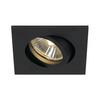 1001994 SLV NEW TRIA 68 SQUARE GU10 CS/LS светильник встраиваемый для лампы GU10 50Вт макс., черный