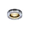 1002120 SLV CRYSTAL Dim to Warm светильник встраиваемый 7.3Вт с LED 1800-3000К, 460лм, 38°, хром/ ст