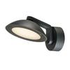 1002155 SLV MALU WL светильник настенный IP55 9.2Вт c LED 3000К, 360лм, 100°, антрацит