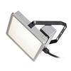 1002195 ALMINO SINGLE светильник на скобе IP65 45Вт c LED 4000K, 5500лм, 50°, UGR<19, серебристый RAL7005 SLV by Marbel