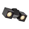 1002215 ALTRA DICE SPOT 2 светильник накладной для 2-x ламп GU10 по 50Вт макс., черный SLV by Marbel