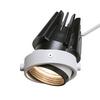 1002598 AIXLIGHT® PRO50, LED Module светильник 350мА 13.3Вт с LED 3000K, 1150лм, 50°, белый/ черный SLV by Marbel