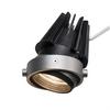 1002599 AIXLIGHT® PRO50, LED Module светильник 350мА 13.3Вт с LED 3000K, 1150лм, 50°, серебристый/ черный SLV by Marbel
