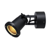 1002867 NAUTILUS WL QPAR51 Outdoor surface-mounted wall light black SLV by Marbel