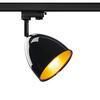 1002876 3Ph, PARA CONE 14 светильник для лампы GU10 25Вт макс., черный/ золото SLV by Marbel