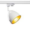 1002877 3Ph, PARA CONE 14 светильник для лампы GU10 25Вт макс., белый/ золото SLV by Marbel