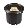 1002893 DASAR® 270 IP65 светильник встраиваемый с LED 30Вт, 3000K, черный матовый SLV by Marbel