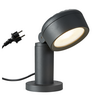 1002906 ESKINA 30 светильник напольный IP65 с LED 14,5 Вт,3000/4000K, димм., матовый антрацит SLV by Marbel