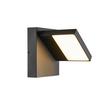 1002989 ABRIDOR светильник настенный IP55 с LED 14Вт, 3000/4000K, антрацит SLV by Marbel