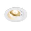 1003037 DINGILO светильник встраиваемый IP44/20 4.4Вт с LED 2700К, 330лм, 40°, CRI>90, с БП, белый SLV by Marbel