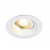 1003039 DINGILO светильник встраиваемый IP44/20 4.4Вт с LED 3000К, 330лм, 40°, CRI>90, с БП, белый SLV by Marbel