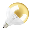 1003099 SLV LED G125 E27 источник света 8Вт, 2000-2900K, 400 lm, 280°, димм., зеркальное стекло