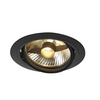 113550 NEW TRIA 150 ROUND ES111 LS светильник встраиваемый для лампы ES111 75Вт макс., черный SLV by Marbel