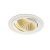 114261 NEW TRIA 150 ROUND CS светильник встраиваемый 29Вт с БП и LED 2700К, 2275лм, 30°, 1-10В, белый SLV by Marbel