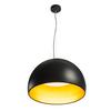 133897 BELA 60 светильник подвесной 31Вт с LED 3000К, 1850лм, черный/ золотой SLV by Marbel