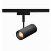 140200 D-TRACK, REVILO светильник 9.5Вт с LED 2700К, 620лм, 15°, черный SLV by Marbel