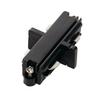 143090 1PHASE-TRACK, коннектор прямой внутренний электрический, черный SLV by Marbel