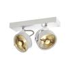 147311 KALU 2 ES111 светильник накладной для 2-х ламп ES111 по 75Вт макс., белый SLV by Marbel