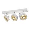 147321 KALU 3 ES111 светильник накладной для 3-х ламп ES111 по 75Вт макс., белый SLV by Marbel