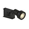 147360 PURI SINGLE CW светильник накладной для лампы GU10 50Вт макс., черный SLV by Marbel