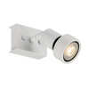 147361 PURI SINGLE CW светильник накладной для лампы GU10 50Вт макс., белый SLV by Marbel