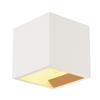 148018 PLASTRA CUBE WL светильник настенный для лампы QT14 G9 42Вт макс., белый гипс SLV by Marbel