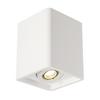 148051 PLASTRA 15 SINGLE светильник потолочный для лампы GU10 35Вт макс., белый гипс SLV by Marbel