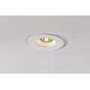 148070 PLASTRA DL GU10 ROUND светильник встраиваемый для лампы GU10 35Вт макс., белый гипс SLV by Marbel