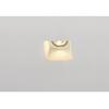 148071 PLASTRA DL GU10 SQUARE светильник встраиваемый для лампы GU10 35Вт макс., белый гипс SLV by Marbel