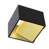 151320 LOGS IN светильник настенный 6.7Вт с LED 3000К, 270лм, черный/ латунь SLV by Marbel