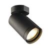 156420 BILAS SINGLE CW светильник накладной 16Вт с LED 2700K, 1000лм, 25°, черный SLV by Marbel
