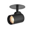 156530 HELIA EL светильник встраиваемый 500мА 9Вт с LED 3000К, 700лм, 35°, CRI>90, черный SLV by Marbel