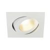 161281 CONTONE® TURNO SQUARE DtW светильник встраив. 16Вт с LED 2000-3000К, 890лм, 30°, CRI>90, с БП, белый SLV by Marbel