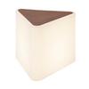 227550 SLV KENGA светильник напольный IP54 для лампы Е27 24Вт макс., белый/ коричневый