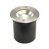 227600 SLV ROCCI ROUND светильник встраиваемый IP67 9.8Вт c LED 3000К, 580лм, 20°, сталь