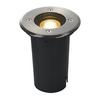 227680 EARTHLUX ROUND светильник встраиваемый IP67 для лампы GU10 6Вт макс., сталь SLV by Marbel