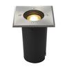 227684 EARTHLUX SQUARE светильник встраиваемый IP67 для лампы GU10 6Вт макс., сталь SLV by Marbel