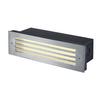229110 BRICK MESH светильник встраиваемый IP54 4Вт с LED 3000К, 52лм, сталь SLV by Marbel