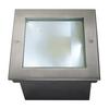 229381 DASAR® 255 SQUARE светильник встраиваемый IP67 34Вт c LED 4000К, 1620лм, сталь SLV by Marbel
