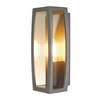 230655 SLV MERIDIAN BOX светильник настенный IP54 для лампы E27 25Вт макс., антрацит/ прозрачный