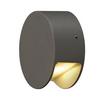 231015 SLV PEMA® ROUND LED светильник настенный IP44 4.7Вт c LED 3000К, 125лм, антрацит