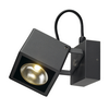 231055 NAUTILUS 10 SQUARE LED WL светильник накладной IP54 17Вт с LED 3000К, 950лм, 25°, антрацит SLV by Marbel