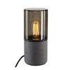 231360 SLV LISENNE TL светильник настольный IP44 для лампы E27 23Вт макс., темно-серый базальт/ стек