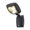 232405 SLV MERVALED S светильник настенный IP54 14Вт с датчиком движения и LED 3000К, 750лм, 30°, ан