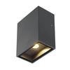 232435 BIG QUAD светильник настенный IP44 4.5Вт с LED 3000К, 260лм, 110°, антрацит SLV by Marbel