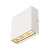 232451 BIG QUAD светильник настенный IP54 8.8Вт c LED 3000К, 480лм, 2х 30°, белый SLV by Marbel