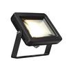 232800 SLV SPOODI 15 светильник накладной IP55 10Вт с LED 3000К, 760лм, 90°, кабель 2м с вилкой, чер