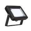 232810 SLV SPOODI 15 светильник накладной IP55 10Вт с LED 4000К, 830лм, 90°, кабель 2м с вилкой, чер